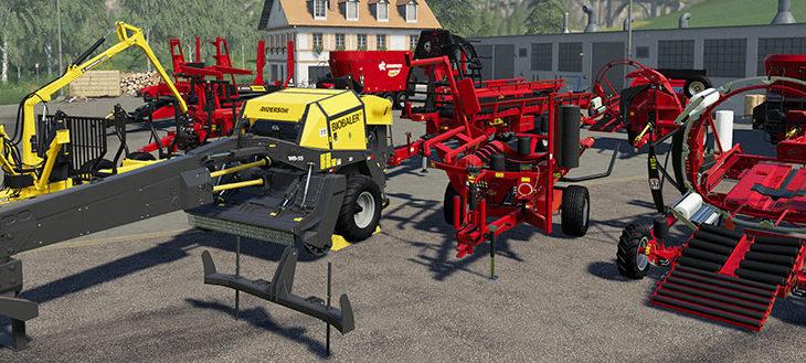 First Farming Simulator 19 DLC Package | Klutch Simulations